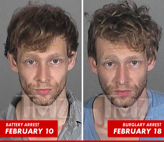 Johnny Lewis Mug Shot