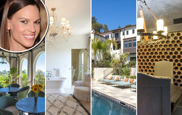 Multi-Million Dollar Baby -- Hilary Swank Lists Pacific Palisades Home!