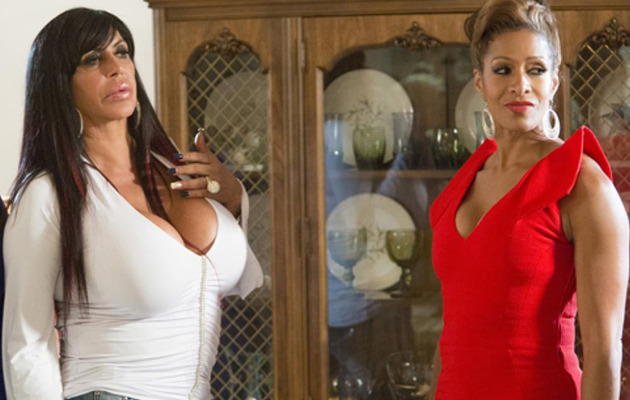 "FIRST LOOK: Big Ang and ""Real Housewife"" Sheree in ""Scary Movie 5"""