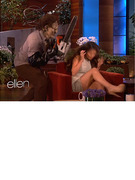 Ellen DeGeneres Scares Selena Gomez  TWICE!