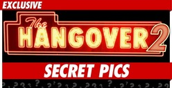 &#039;Hangover 2&#039; -- Crazy Secret Pics from the Set
