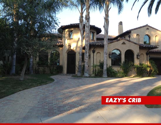 Rapper eazy e bank forecloses on infamous party mansion for E house