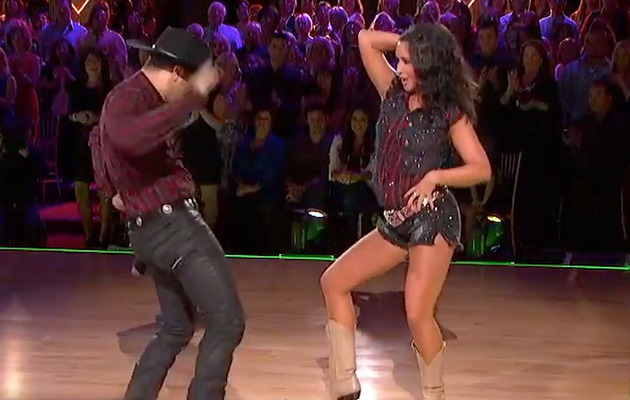 "Bristol Palin Gets Low Score After Booty Short Number on ""DWTS"""