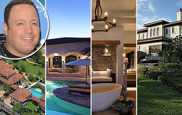 Inside Kevin James' Massive Florida Mansion