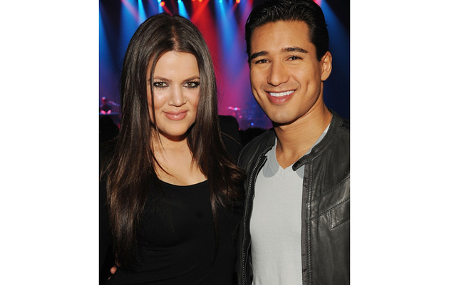 "Khloe Kardashian, Mario Lopez Show Their ""X Factor"" Chemistry"