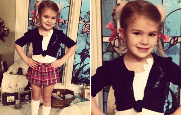 Jamie Lynn Spears' Daughter Maddie Dresses Like Britney for School