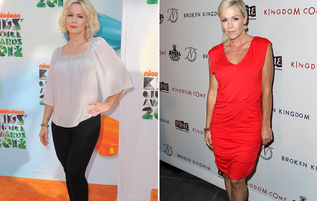 Jennie Garth's 30 Pound Weight Loss -- Too Much?