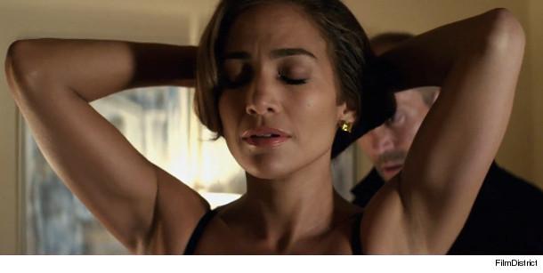 TANZANITE GLAMOUR: J.Lo Strips Down for Jason Statham in
