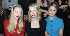 Amanda Seyfried vs. Emma Stone vs. Dianna Agron: Who&#039;d You Rather?