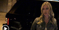 Nicky Hilton -- Range Rover SMASHED at Valet Parking