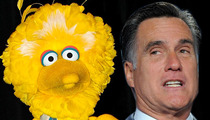 Big Bird to Mitt Romney -- Thanks for the Shoutout ... Even Though You Want Me Dead