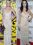 Dueling Dresses: Ashlee Simpson vs Katy Perry
