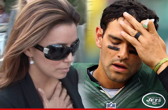 Eva Longoria: Im Not Pregnant with Mark Sanchez's Baby