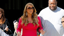 Mariah Carey's Posse -- Cops, Bodyguards, Umbrella Holder
