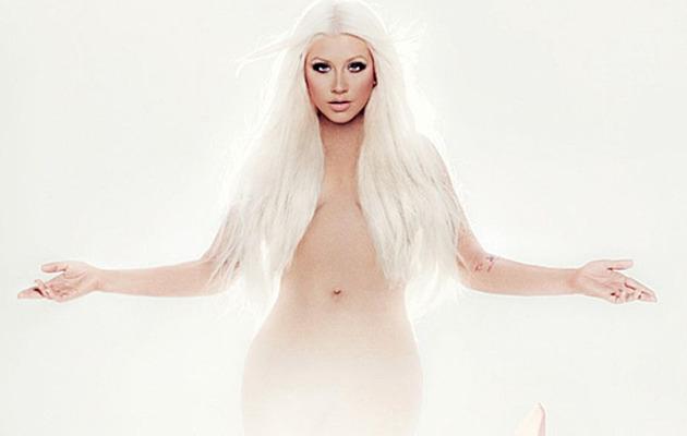 Christina Aguilera Strips Nude For New Album Cover