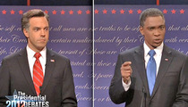 'Saturday Night Live' -- Spoofs Obama for Blowing Debate
