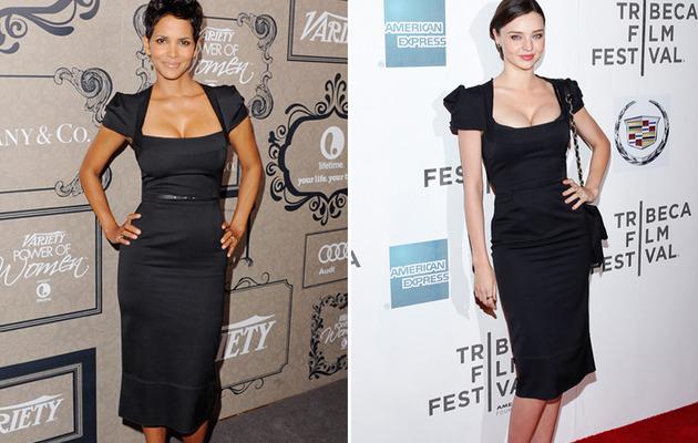Dueling Dresses: Halle Berry vs. Miranda Kerr