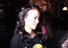 Karrueche Tran -- CLUBBING without Chris Brown