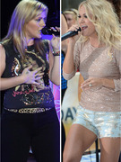 "Kelly Clarkson Covers Carrie Underwood Hit ""Blown Away"""