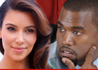 Kim Kardashian & Kanye West -- Hunting for $
