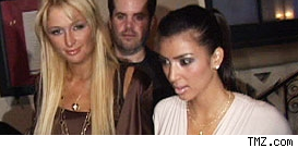 Paris Hilton   Kardashian on 120706 Paris Hilton Kim Kardashian
