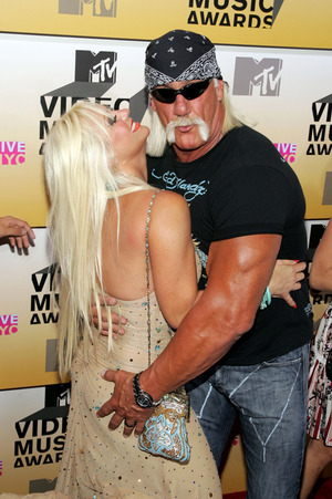 Hulk Hogan and Linda -- Before the Split!