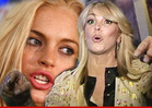 Lindsay Lohan and Dina in Huge Domestic Fight -- 91