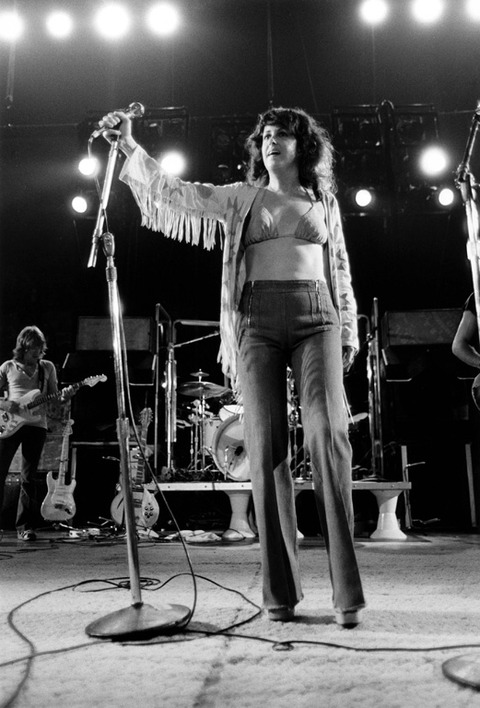 Grace Slick Lead Singer Of Jefferson Airplane