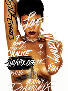 Rihanna Debuts New Album Cover for &quot;Unapologetic!&quot; 