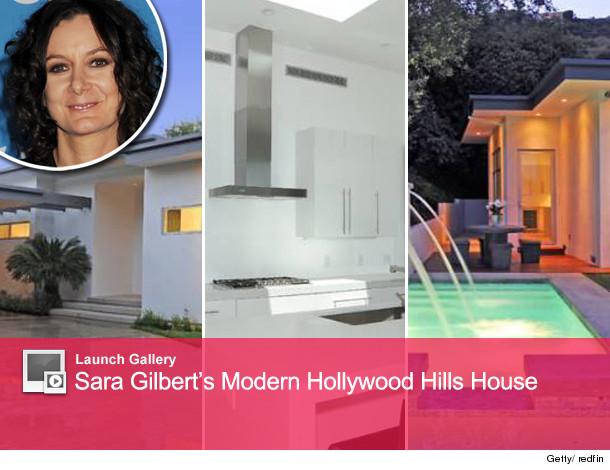 Sara Gilbert house in Hollywood Hills