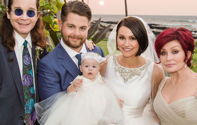 See Jack Osbourne's Official Wedding Photo!