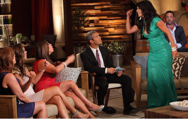 """Real Housewives"" Reunion: Lying, Crying and ""Strippergate!"""