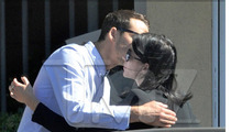 Rupert Sanders & Liberty Ross -- HUGGIN' IT OUT