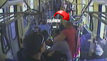 Ex-WWE Star Chokes Out Man in Train Rescue -- THE FOOTAGE!