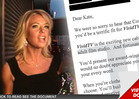 Kate Gosselin -- New Job Offer ... Clothes 100% Off
