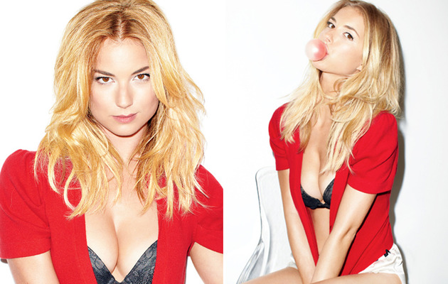 Emily VanCamp Vamps for GQ -- See the Racy Pics!