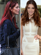 Ashley Greene Debuts Red Hot Hair!
