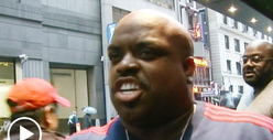 Cee Lo Green -- Endures Street &#039;Voice&#039; Audition ... from TMZ Photog