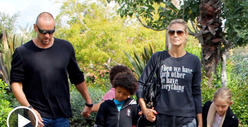 Heidi Klum -- Hey Seal, Read My Shirt And Weep!