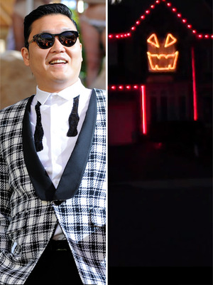 Viral Video: Gangnam Style ... with a Halloween Twist
