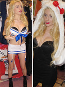 Courtney Stodden Tries On Many Sexy Halloween Costumes