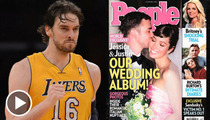 Justin Timberlake & Pau Gasol -- Ball Talk vs. Wedding Chat