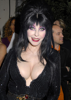 Elvira's Scary Hot Halloween Photos