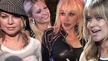 Paris Hilton, Fergie, Carmen Electra -- Showing As Much Skin As Possible for Halloween