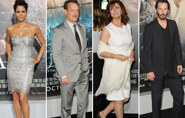 "A-Listers Hit the Red Carpet for ""Cloud Atlas"" Premiere!"
