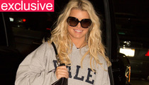 Jessica Simpson All Smiles At the Gym After Parents Split