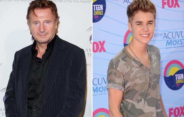 """Viral Video: Liam Neeson Performs Justin Bieber's """"Boyfriend!"""""""