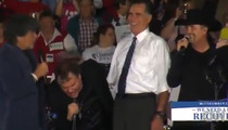 Meat Loaf -- BUTCHERS 'America the Beautiful' at Mitt Romney Event