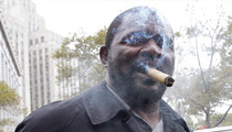 Lawrence Taylor -- Wins Sex Case, Lights Up Victory Cigar