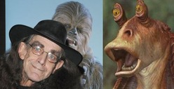 Chewbacca &amp; Jar Jar Binks -- The Force is Strong with Disney